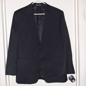 Canali Blazer Black Men's 42R Made In Italy EUC